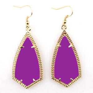 New Kite Design Silver Frame Arrow Hook Earrings Women Fashion Boutique Jewelry