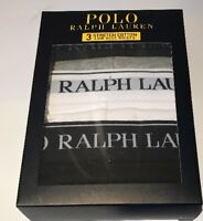 BNIB MENS POLO RALPH LAUREN 3 LOW RISE BRIEFS/PANTS/UNDERWEAR SIZE LARGE