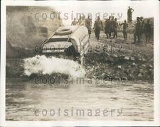 1929 Amphibian Truck M'Lai River Capetown to Stockholm Expedition Press Photo