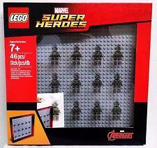 Lego Marvel Avengers Super Heros Minifigure Display Case Frame 853611