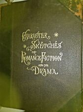 BOOK: CHARACTER SKETCHES OF ROMANCE FICTION AND DRAMA 1902