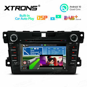 """7"""" Android 10 Car Stereo Radio DVD GPS CANbus CarAutoPlay for Mazda CX-7 07-12"""