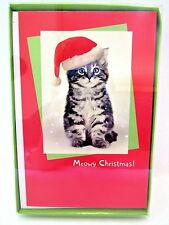 American greetings christmas cards ebay american greetings christmas cards boxed kitten meowy christmas 16 ct cards new m4hsunfo
