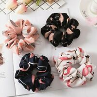 Women Ponytail Bun Tie Scrunchies Flamingos Hair Band Elastic Scrunchie sdRQv