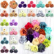 20-100pcs Artificial Flowers Fake Dahlia Daisy Flower for Wedding Decorations