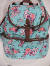 MUDD Blue 300 Mint Floral Backpack  $60