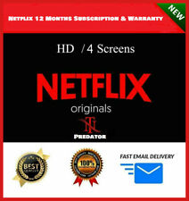 ✅ Netflix 12 Months Warranty 📺 4K UltraHD 4 Screens AutoPay ✅