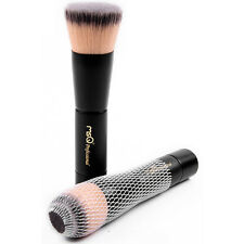 MSQ Professional Foundation Brush Flat Makeup Cosmetic Tool Synthetic Wood Black