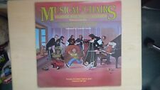RARE Kids' Records MUSICAL CHAIRS Classical Music Fantasy For Children LP 1982