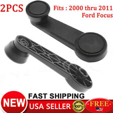 2PCS For Ford Focus Inside Interior Window Crank Handle Beige Left Right Side US