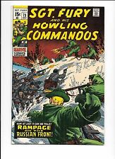 Sgt. Fury And His Howling Commandos #73 December 1969
