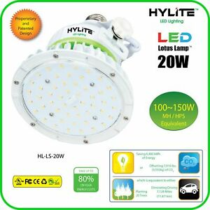 HL-LS-20W-E26-50K HYLITE 20W, 5000K, 2800 Lumens, Ballast Bypass AC Direct Wiri