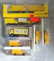 7x H0 Automodelle davon 6x Post 1x Heinz 92 6x gut erhalten 1x lose mit OVPs
