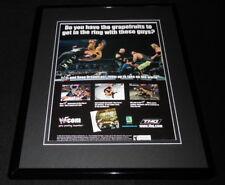 2000 WWF Royal Rumble Sega Dreamcast Framed 11x14 ORIGINAL Advertisement