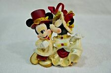 Disney Mickey & Minnie Porcelain Victorian  Ornament (029)