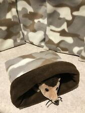 Green Camo Light - snuggle sack- small animal Bonding Bag