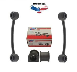 2 x FRONT ANTI-ROLL BAR LINKS + BUSHES FOR JEEP  WRANGLER YJ 1987-1995