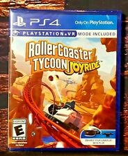 Rollercoaster Tycoon Joyride VR - PS4 - Sony Playstation 4 - Brand NEW - Sealed