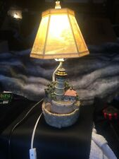 Landscape Lamp Shade Plastic Lithophane Lighthouse Lamp And Fountain