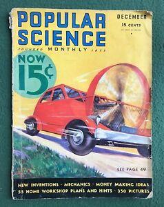 Popular Science Dec 1932 vintage how to magazine