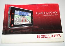 GUIDE D'UTILISATION GPS TRAFFIC ASSIST HARMAN/ BECKER 7928 .