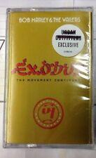 Exodus by Bob Marley/Bob Marley & the Wailers Cassette