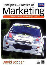 Principles and Practices of Marketing by David Jobber (Paperback, 2001)