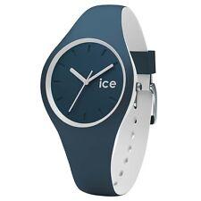 Ice-Watch 001487 Glace Duo Atlantic Montre À Bracelet En Silicone