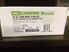 "Empire 7 Galvanized Staples 3/8"" Crown, 3/8"" Leg, #7 Series Upholstery Staples"