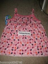 "ROXY GIRL ""JUNGLE GYM"" STRAPPY TANK PINK LARGE L *NWT"