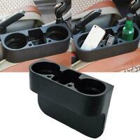 Car Seat Seam Wedge Cup Holder Food Drink Bottle Mount Organizer Storage Q5N3