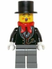 ☀️LEGO Holiday MiniFigure - Caroler (Male, Tuxedo Shirt & Gold Watch) Set 10249