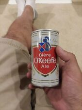 O'Keefe Ale 12 Oz Beer Can With Punch Hole Opening Intact (Canada)