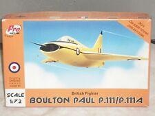 Pro Resin 1/72 Scale Boulton Paul P.111 / P.111A