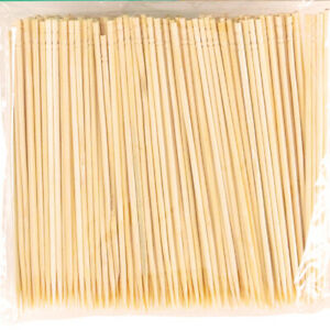 550Pcs Tooth Picks Double Pointed Oral Care Wooden Toothpick Appetizer Sticks
