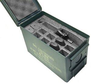 Case Club 1 Pistol & 11 Magazine Holder .50 Cal Ammo Can Foam