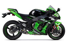 2016 Kawasaki Ninja ZX10R Two Brothers S1R Carbon Fiber Slip On Exhaust System