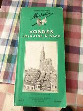 """GUIDE VERT MICHELIN 1964 """"VOSGES LORRAINE ALSACE"""" 18ème ÉDITION / BON ÉTAT"""