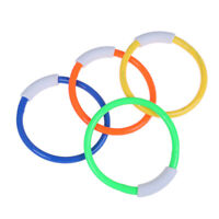 1 Summer Underwater Diving Rings Swimming Pool Kids Dive Ring Water Play Toy FT