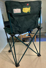 New listing Masters Tournament Folding Chair With Case Bag Used And Excellent Condition Golf