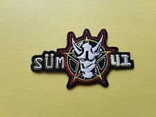 Sum 41 Patch Embroidered Iron On Or Sew On Badge