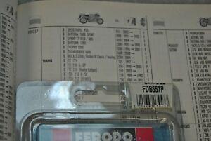 FERODO Motorcycle Cojines / Set Freno FDB557P Orgánico