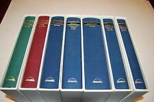 7 Book lot Library of America Slip case Hardcovers books