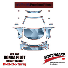 3M PRO Series PreCut Paint Protection Clear Bra Kit for Honda Pilot 2019-2020