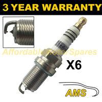 6X DOUBLE IRIDIUM SPARK PLUGS FOR PORSCHE 911 3.8 CARRERA RS 1995-1997