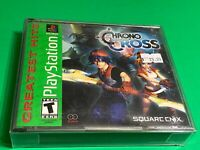 🔥 SONY PS1 PlayStation One PSX GAME 🔥 SQUARE ENIX CHRONO CROSS 💯COMPLETE GAME