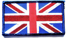 UNION JACK CLOTH PATCH Great Britain sew on flag badge Team GB Red white & blue