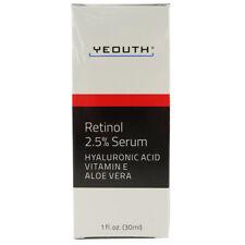 Yeouth Retinol 2.5% Serum with Hyaluronic Acid, Vitamin E, Aloe Vera 1 oz