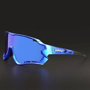 3 Lens Mountain Goggles Polarized Cycling Eyewear Bicycle Glasses Sunglasses New