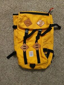 topo designs backpack yellow klettersack